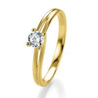 Breuning Verlobungsring Gelbgold Bridal 41/05305