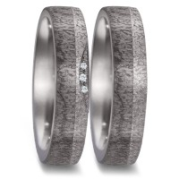 Partnerringe Tantal Carbon Brillant TeNo 52590