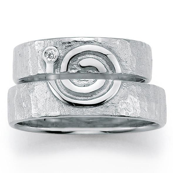 Signs of Love - Spirale / Spiral - Weißgold, 66/51110