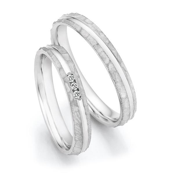 Eheringe Silber 925 Legends Ruesch 55/33050 & 55/33060