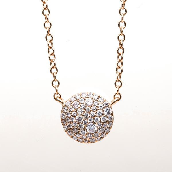 DiamondGroup Diamantcollier Collier 18 kt Rotgold - 4B193R8-2