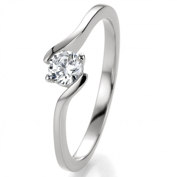 Breuning Verlobungsring Silber 925 Bridal 41/05296