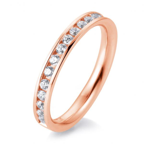 Breuning Alliance Eternity-Ring Rotgold 585 Rotgold 41/056600 - Diamantkranz