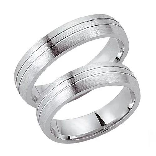 Schwarz Trauringe / Partnerringe Silber 925 SW925-017