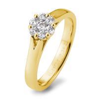 Breuning Verlobungsring Gelbgold 585 Brillant Antragsring 41/05718