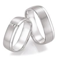 Ruesch Trauringe Silber 925 55/30070 & 55/30080