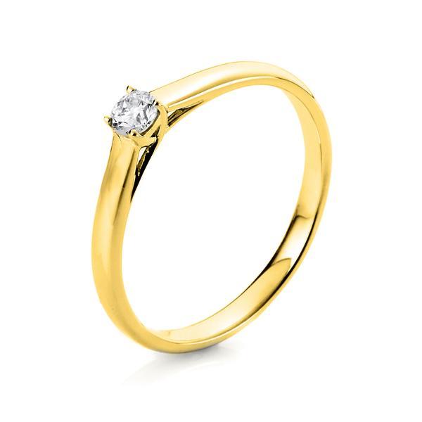 Ring 4er-Krappe 14 kt Gelbgold - 1A442G451-1