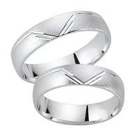 Schwarz Trauringe / Partnerringe Silber 925 SW925-052