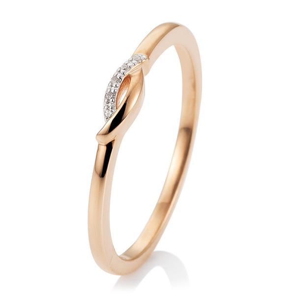 Breuning Ring Rotgold Brillant 41/05739