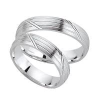 Schwarz Trauringe / Partnerringe Silber 925 SW925-014