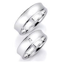 Bruno Banani Partnerringe 91026 & 91027 aus Silber 925