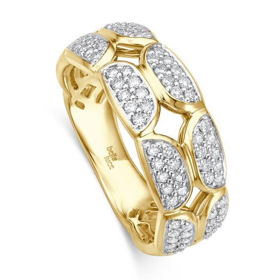 bella luce Ring Pietra II Gelbgold EH004530 Brillant