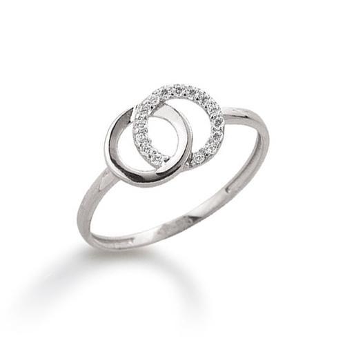 Ring Weißgold 585 Zirkonia Palido K10936W