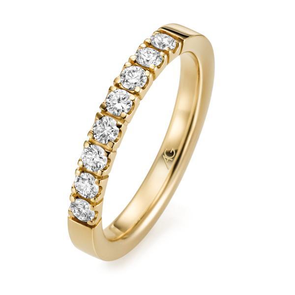 Memoire Ring Gelbgold 585 Brillant Gerstner 29763/2.9