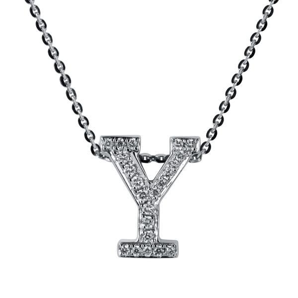 DiamondGroup Diamantcollier Collier 18 kt Weißgold Y - 4A190W8-1