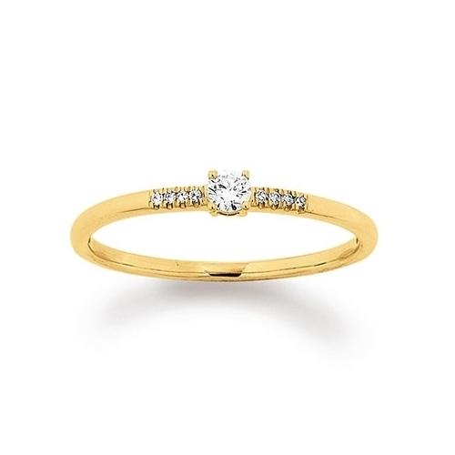 First Love Ring Gelbgold 585 Palido K11585