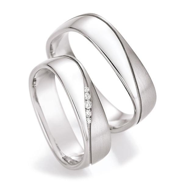 Ruesch Trauringe Silber 925 55/30050 & 55/30060