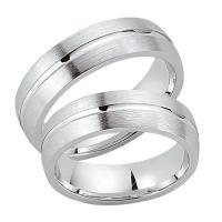 Schwarz Trauringe Partnerringe Silber 925 SW925-024