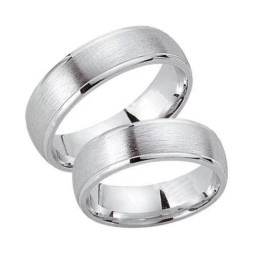 Schwarz Trauringe / Partnerringe Silber 925 SW925-012