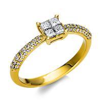 Ring 18 kt Gelbgold - 1U172G854-1