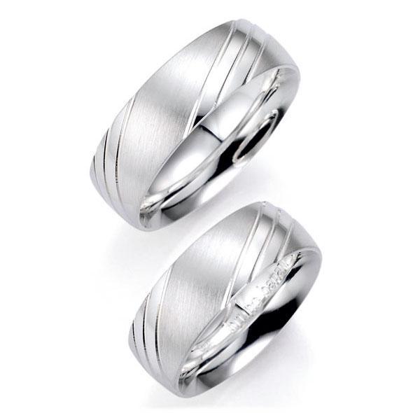 Bruno Banani Partnerringe 91011 aus Silber 925