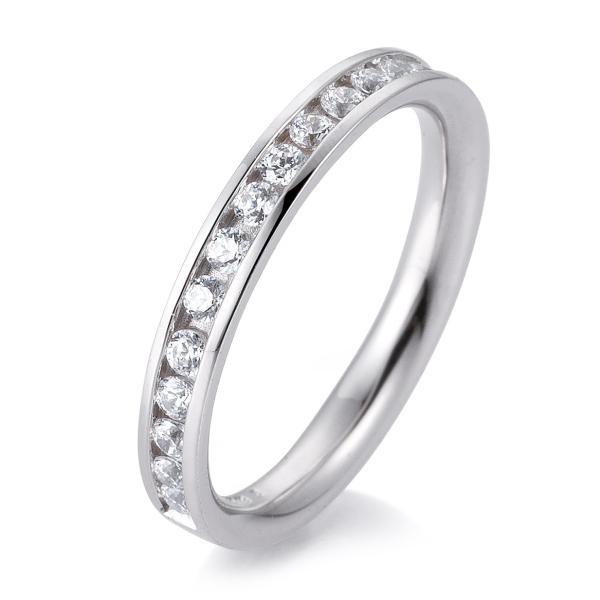 Breuning Memore Ring Weißgold 41/056600 - Diamantkranz