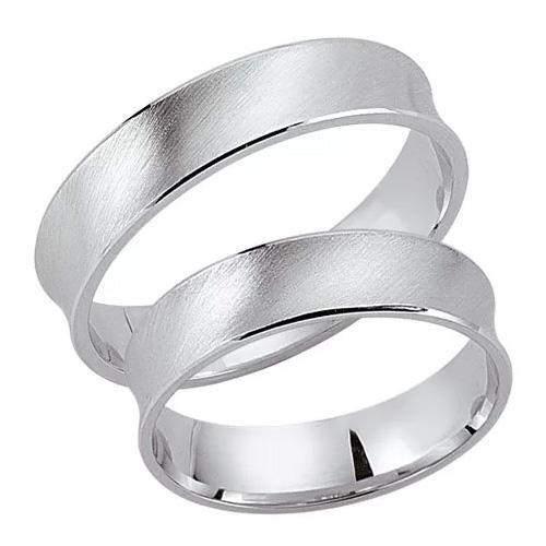 Schwarz Trauringe / Partnerringe Silber 925 SW925-053