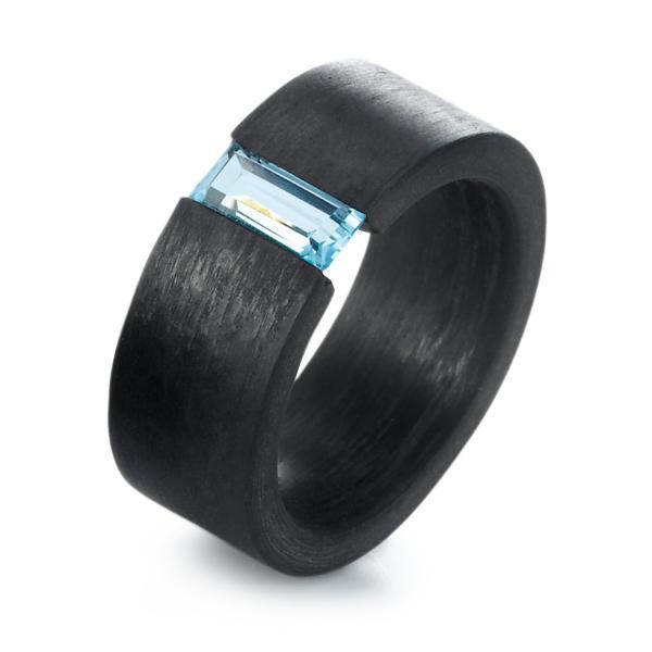 Carbonring Topas blau TitanFactory 59328