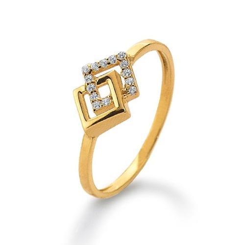 Ring Gelbgold 585 Zirkonia Palido K11295G
