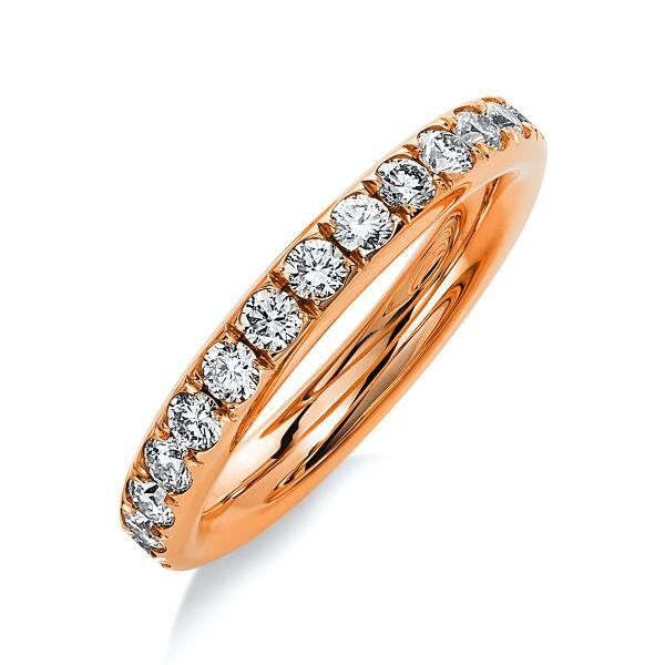 DiamondGroup Ring 14 kt Rotgold - 1B823R454-1