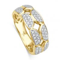 bella luce Ring Pietra II Gelbgold EH004530