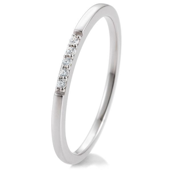 Breuning Memoire-Ring Weißgold 41880180