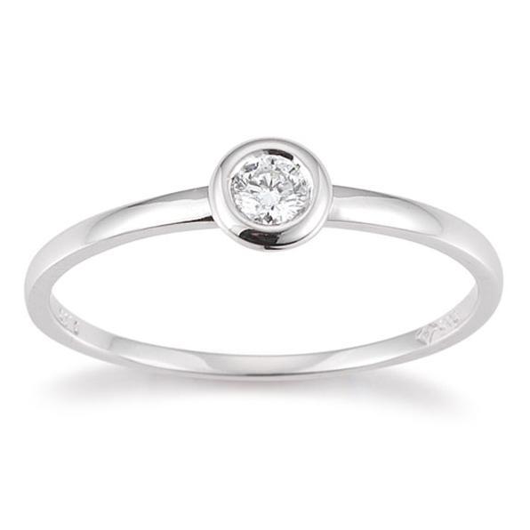 Palido Ring Weißgold 585 Brillant K10487W