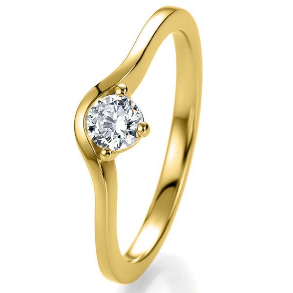 Breuning Bridal Antragsring Gelbgold 41/05301