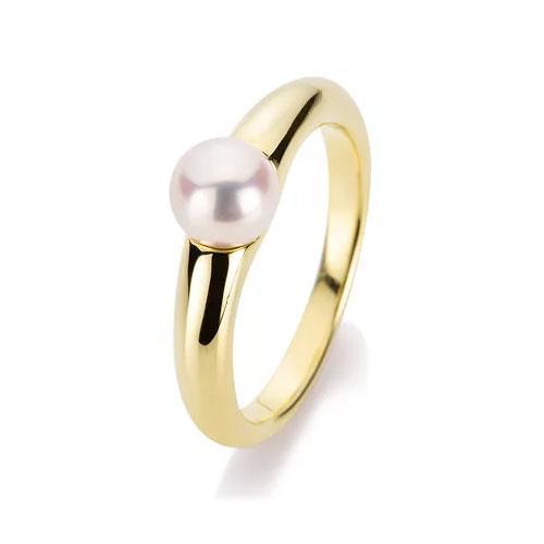 DiamondGroup Ring 14 kt Gelbgold - 1A342G454-1