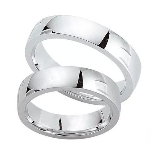 Schwarz Trauringe / Partnerringe Silber 925 SW925-016 Sterlingsilber poliert