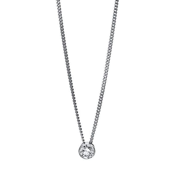 DiamondGroup Diamantcollier Collier Zarge 14 kt Weißgold - 4C966W4-3
