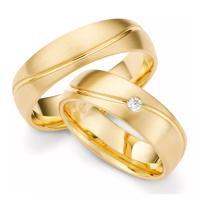Trauringe Gelbgold Brillant TS70109