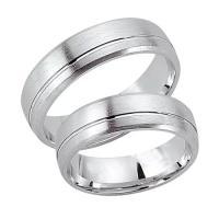 Schwarz Trauringe Partnerringe Silber 925 SW925-015