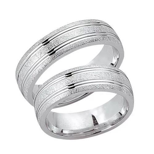 Schwarz Trauringe / Partnerringe Silber 925 SW925-013