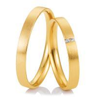 Breuning Trauringe Gelbgold Welcome 48/04987 & 48/04988