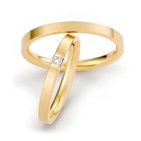 Trauringe Gelbgold Brillant TS70103