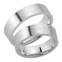 Schwarz Trauringe Partnerringe Silber 925 SW925-022