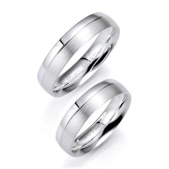 Bruno Banani Partnerringe 91005 aus Silber 925