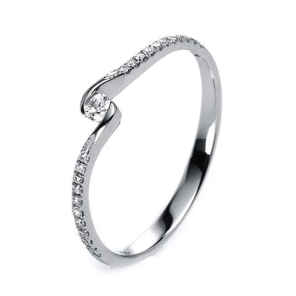 Ring 18 kt Weißgold - 1G869W853-2