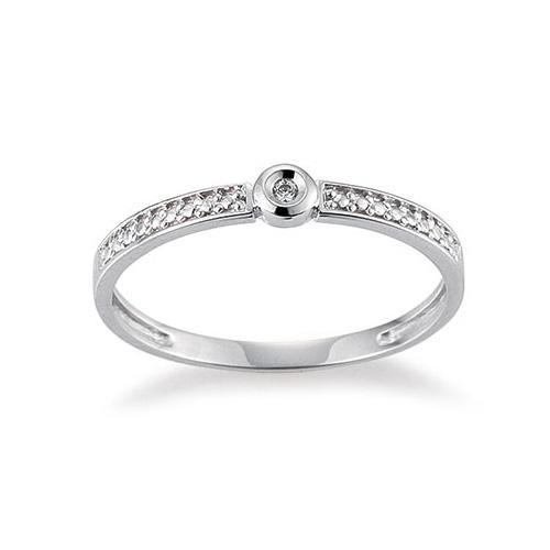 Palido Ring Weißgold 585 Brillant K11887