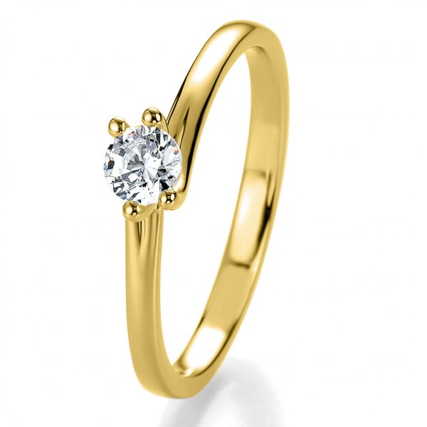 Breuning Bridal Antragsring Gelbgold 41/05310