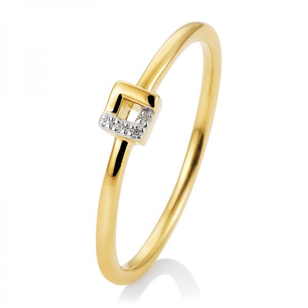 Breuning Ring Gelbgold Brillant 41/05740