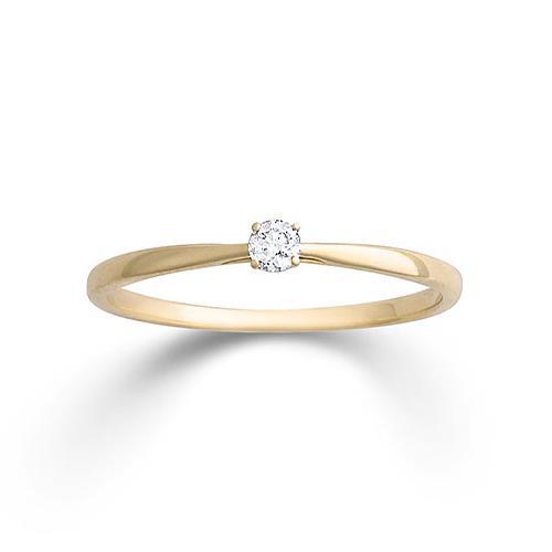 Damenring Gelbgold 585 Brillant Palido K11701G