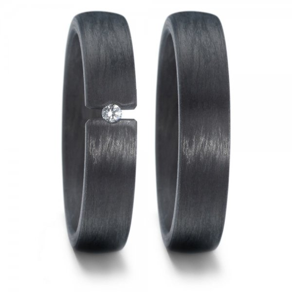 TitanFactory Trauringe Carbon - 59620